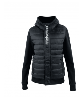 Sweat HELVETICA noir - COURCHEVEL H326