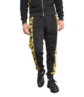 Jogging Versace Jeans Couture noir - A2GWA1F9 WUP318co CONTR PRINT BAROQUE