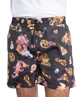 Short Versace Jeans Couture noir - A4GWA1A6 WUP116 PRINT CAMEO ALLOVER
