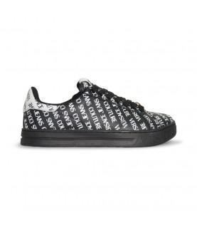 Baskets Versace Jeans Couture noir - E0YWASK5 LINEA FONDO COURT 88 DIS.24