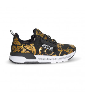 Baskets Versace Jeans Couture noir - E0VWASA5 - LINEA FONDO AERODYNAMIC DIS.5