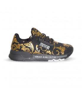 Baskets Versace Jeans Couture noir - E0YWASA4 - LINEA FONDO AERODYNAMIC DIS.4