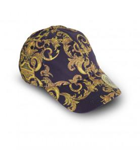 Casquette VERSACE JEANS COUTURE noir - E8YWAK13 - LINEA MAN CAP DIS.6