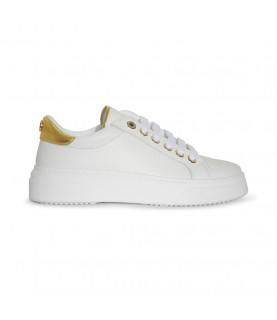Basket VALENTINO blanc or - 91190740 white/ gold