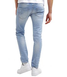 Jeans slim Diesel - Belther 0849 bleu