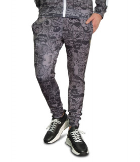 Jogging HORPIST noir - RAFFY-M306 BLACK TOYS