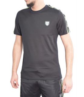 Tshirt Horspist noir jaune - DEAN BLACK
