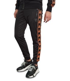 Jogging HORSPIST noir orange - FLINT ORANGE