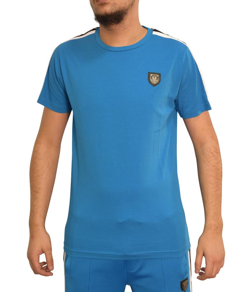 Tshirt Horspist bleu - JAN M500 AZUR