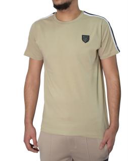 T-shirt HORSPIST taupe - JAN-M500