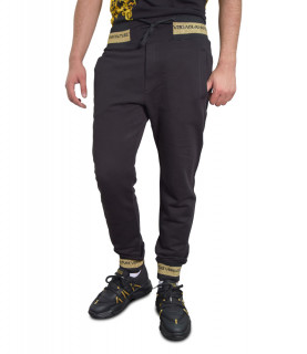Jogging VERSACE JEANS COUTURE noir - A2GWA1TC - WUP314 ROUND SMALL EMBRO
