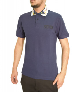 Polo VERSACE JEANS COUTURE bleu - B3GWA7T5 - POLO WUP622 REG TUILERIES