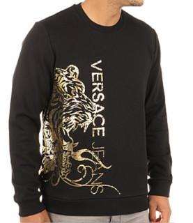 Sweat Versace Jeans noir - B7GQC7FC