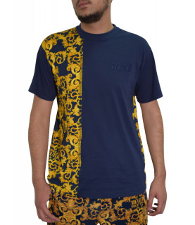 T-shirt Versace Jeans Couture bleu - B3gwa7r1 - wup 601