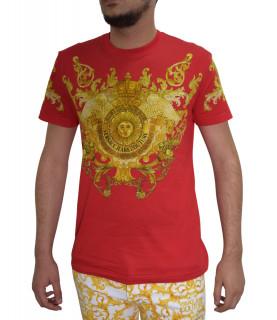 T-shirt Versace rouge - b3gwa7s1 wup600co