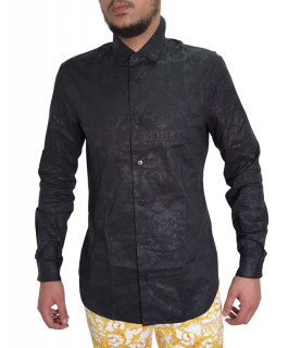 Chemise VERSACE JEANS COUTURE noir - b1gwa6s1 - wup201co