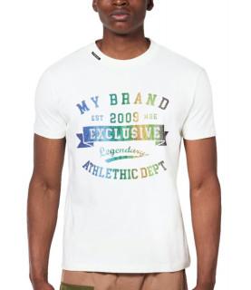 Tshirt MY BRAND Blanc - MB LEGENDARY T-SHIRT
