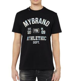 Tshirt MY BRAND Noir - MB DEPT T-SHIRT
