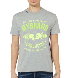 Tshirt MY BRAND Gris - MB SKULL T-SHIRT