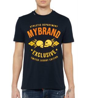 Tshirt MY BRAND Noir - MB SKULLS T-SHIRT