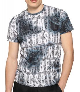 Tshirt Bikkembergs gris - C 4 101 00 E 2250 0022