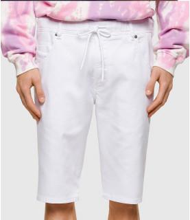 Short JoggJeans DIESEL Blanc - D-KROOSHORT-NE 00STMV  0684U 100 TN