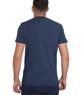Tshirt Bikkembergs bleu - C 4 101 26 E 2231 Y91