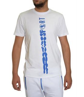 Tshirt Bikkembergs Blanc - C 4 101 26 E 2231 A00