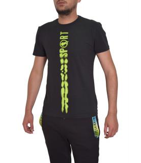T-shirt Bikkembergs noir - C 4 101 26 E 2231 C74