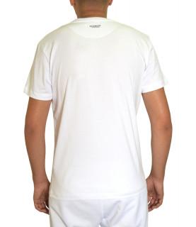 T-shirt Bikkembergs blanc - C 4 101 32 E 2231 A00