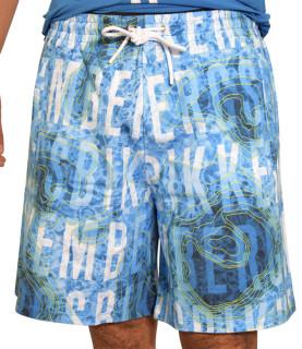 Short Bikkembergs bleu - C 1 207 00 E 2251 0021