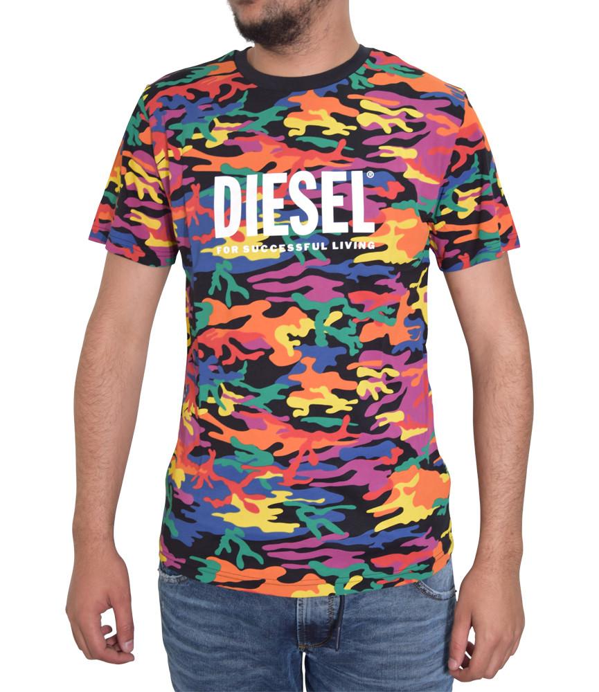 Tshirt Diesel multi color - BMOWT-DIEGOS-PR - A02428 0GBBS E55