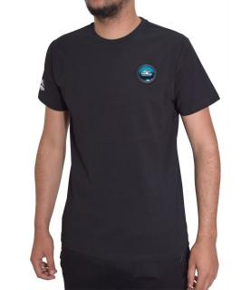 Tshirt Helvetica noir - AJACCIO H500 BLACK