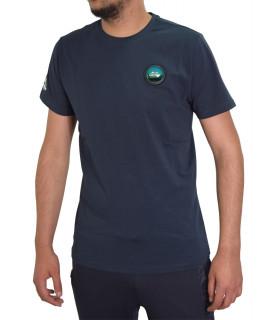 Tshirt Helvetica bleu - AJACCIO H500 DARK NAVY