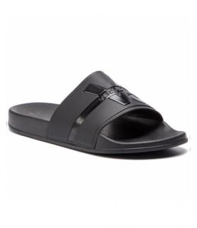 Claquettes Versace Jeans noir - EY0TBSQ3