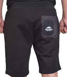 Short HELVETICA noir - BARCELONE - H336 BLACK