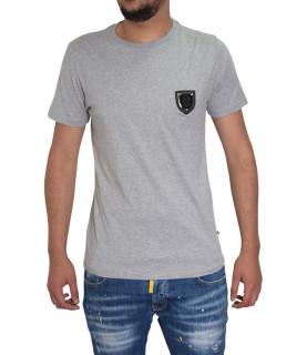 T-shirt gris PHILIPP PLEIN  P17C MTK0185