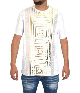 Tshirt Versace Collection Blanc - V800683R VJ00599 V7001