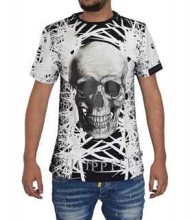 T-shirt noir PHILIPP PLEIN FW16 HM342391