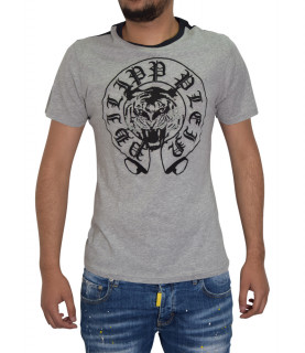 T-shirt PHILIPP PLEIN gris - SS14 HM341128
