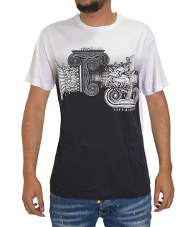 T-shirt blanc VERSACE JEANS B3GTB72B
