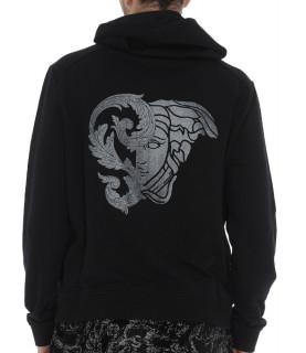 Sweat zippé Versace Collection noir - V800698F