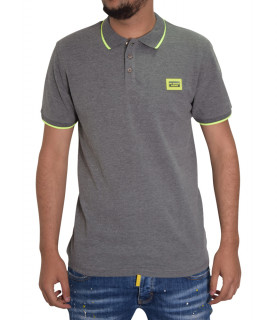 Polo My Brand gris - MMB P0009 G3003