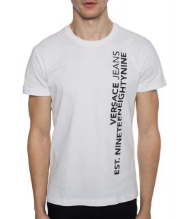 Tshirt Versace Jeans blanc - B3GTB76Q 36610-003