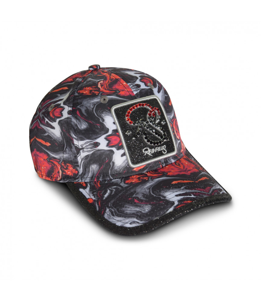 Casquette Redfills rouge - FUSION LAVA DLUXE