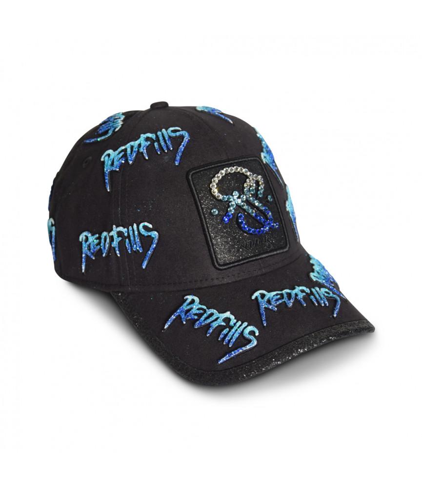 Casquette Redfills noir - SIGNATURE BLUE