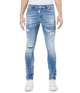 Jeans My Brand bleu - LIGHT DENIM SUBTLE FADED JEANS