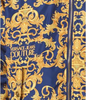 Veste VERSACE JEANS COUTURE bleu - C1GWA9A7 - WUP407 PRINT REV. BAROQUE