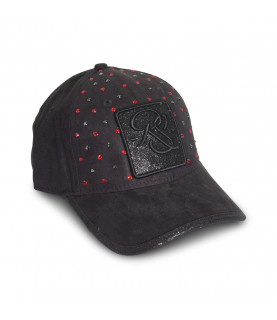 Casquette Redfills noir - RUBIS
