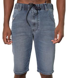 Short JoggJeans Diesel bleu - D-KROOSHORT-NE 00STMV 069VH 01